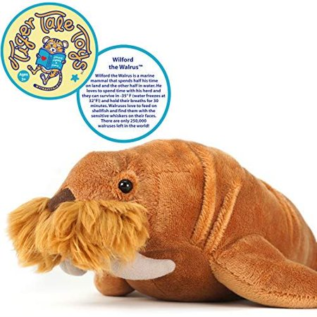 VIAHART Wilford The Walrus | 14 Inch Stuffed Animal Plush | by Tiger Tale (Walrus Plush Stuffed Animal)