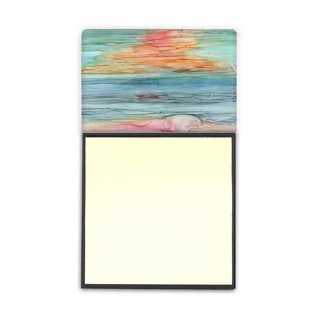 Carolines Treasures 8979SN Abstract Rainbow Sticky Note Holder - image 1 de 1