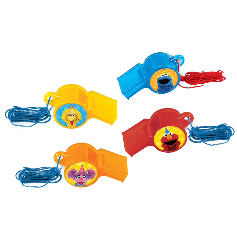 Sesame Street Whistle Favors (12 Count)