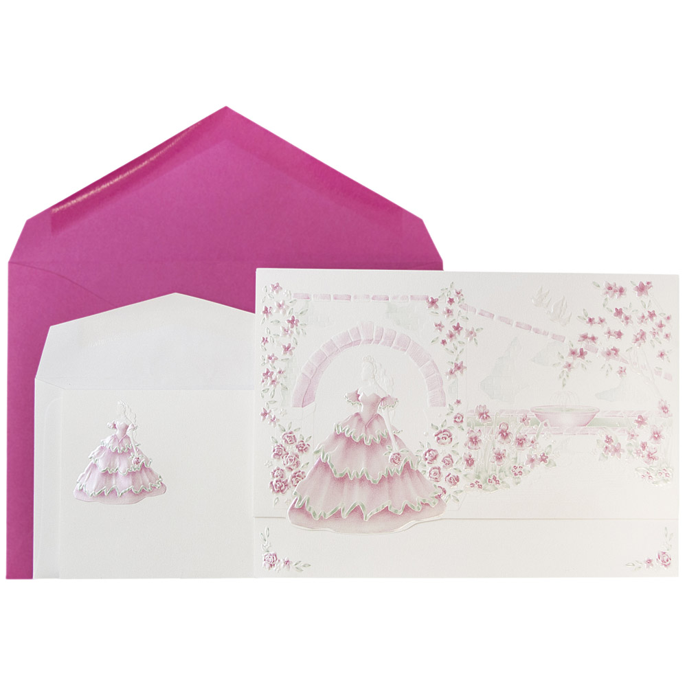 JAM Wedding Invitation Combo Set - 1 Small & 1 Large Set ...