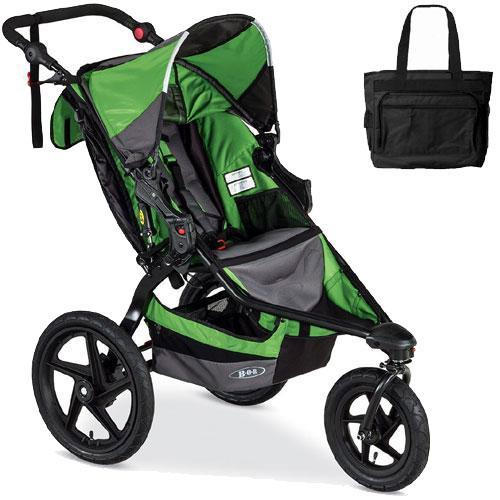 BOB - Revolution FLEX Stroller with Bag - Wilderness Black