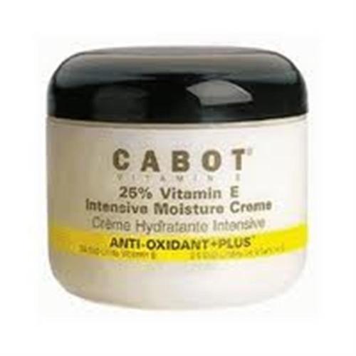 Cabot Vitamin E Creme Intensive Skin Cream  4 oz (Pack of 6)