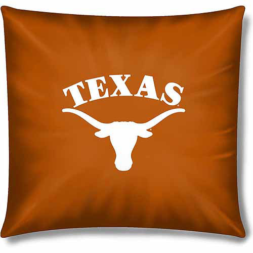 "NCAA Texas Longhorns Official 15"" Toss Pillow, 1 Each"