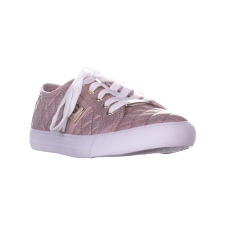Womens G by Guess Backer2 Quilted Fashion Sneakers, Dark Pink