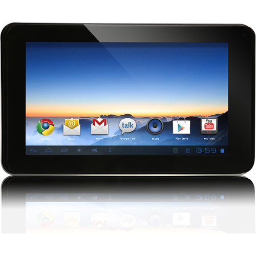 """Envizen Digital V7028D with WiFi 7"""" Touchscreen Tablet PC Featuring Android 4.1 (Jelly Bean) OS"""
