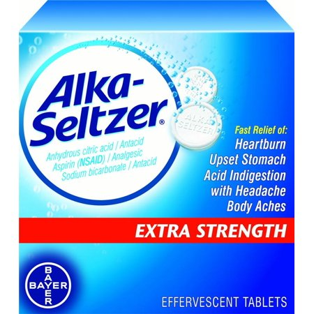 Image of Alka-Seltzer Antacid & Pain Relief Extra Strength, 24 ct