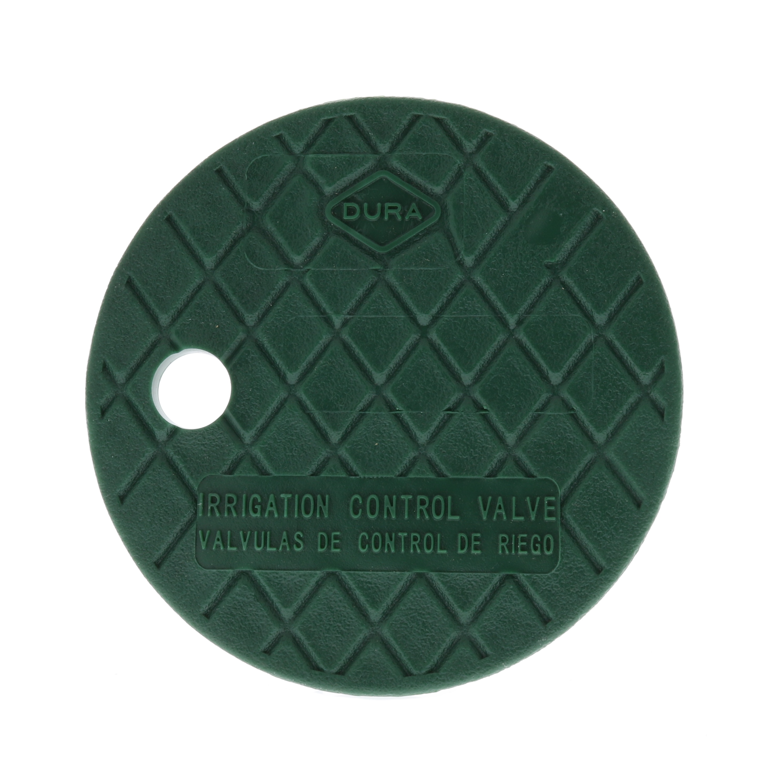 "Dura Round Sprinkler Valve Box Replacement Lids Size 6"" Color Green by"