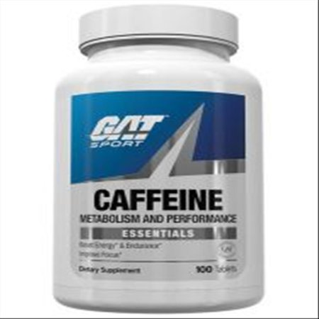 GAT Caffeine Tablets 100 Ct