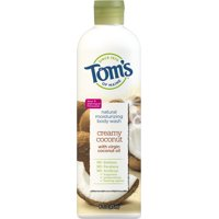 Tom's of Maine Body Wash, Creamy Coconut, 16oz