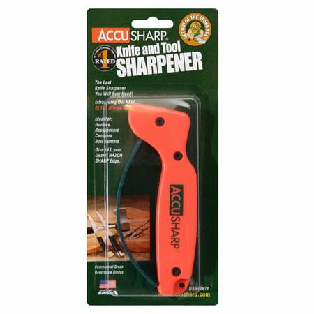 AccuSharp Blaze Orange Knife and Tool Sharpener