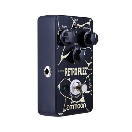 ammoon RETRO FUZZ Analog Fuzz Guitar Effect Pedal 2 Modes True Bypass Aluminum Alloy Shell - image 4 of 7