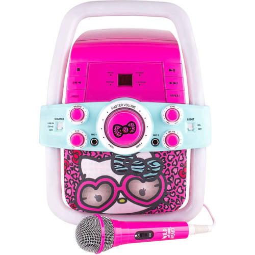 Frozen, Princess, Hello Kitty, & The Voice Flashing Bar Karaoke