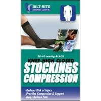 Knee-High Stockings -30-40 mmHg Black