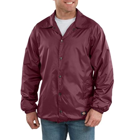 Nylon Taffeta Jacket (Men's Snap Front Nylon Jacket)