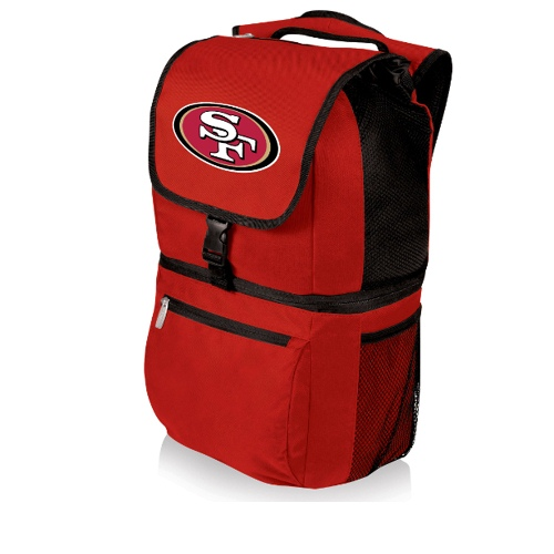 NFL Backpack Cooler by Picnic Time - Zuma, San Francisco 49ers - Red