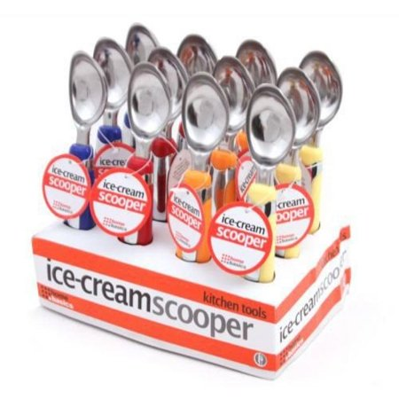 HDS Trading Ice Cream Spoon Stainless Steel Finish - HDS Trading KT10679 - Ice Trading