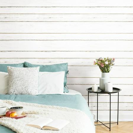 Shiplap Peel and Stick Wallpaper - Walmart.com