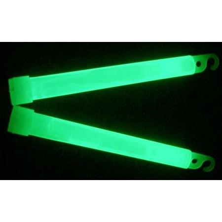 American Maple Glow Stick 2In 2Pk Green W/Rod Tip Clip On 50Ea In Pop Box