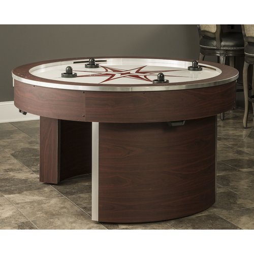 American Heritage Billiards Orbit Eliminator 4-Player Air Hockey Table by American Heritage