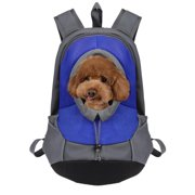 Fashionbazaar Pet Dog Cat Portable Travel Carrier Head Out Backpack For Bike Hiking Outdoor
