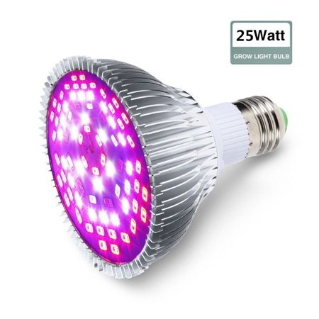 P30 Full Spectrum E27 25W LED Plant Grow Lamps Horticulture Growing Light for Indoor Garden Plants Greenhouse and