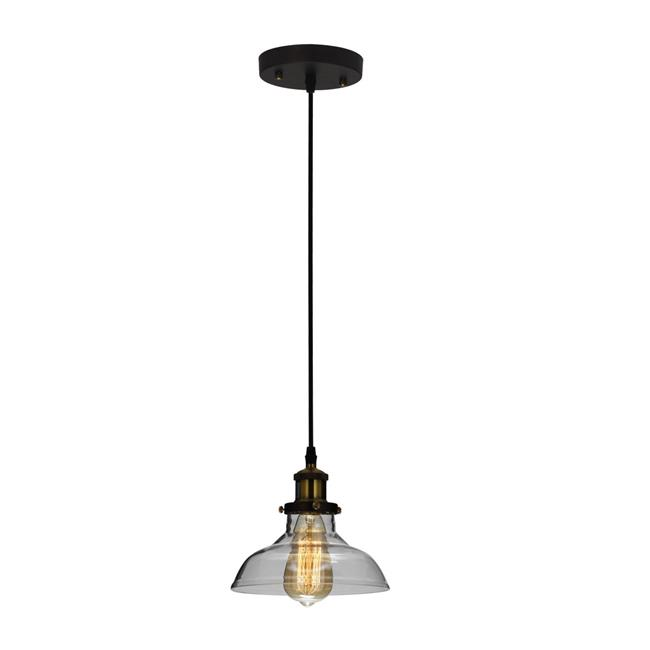 Chloe Lighting Ch6d802rb08 Dp1 Cadman Industrial 1 Light Oil Rubbed Bronze Ceiling Pendant 8 In Walmart Canada