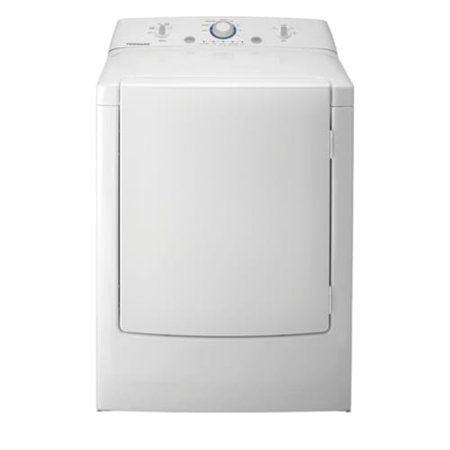 Frigidaire FFRE1001PW 7.0 Cu. Ft. Electric Dryer with One-Touch Wrinkle Release