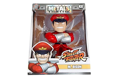"""Jada Toys Metals Street Fighter 4"""" Classic Figure M. Bison (M307) Toy Figure by"""