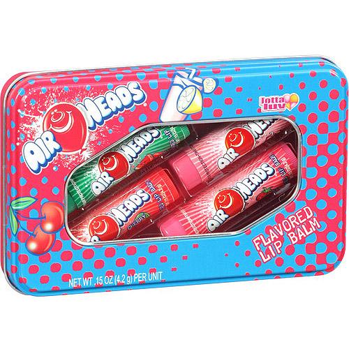 Lotta Luv Air Heads Flavored Lip Balms, 4 count