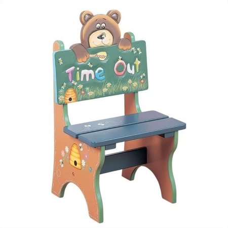 Peachy Teamson Kids Safari Bear Time Out Chair Pabps2019 Chair Design Images Pabps2019Com