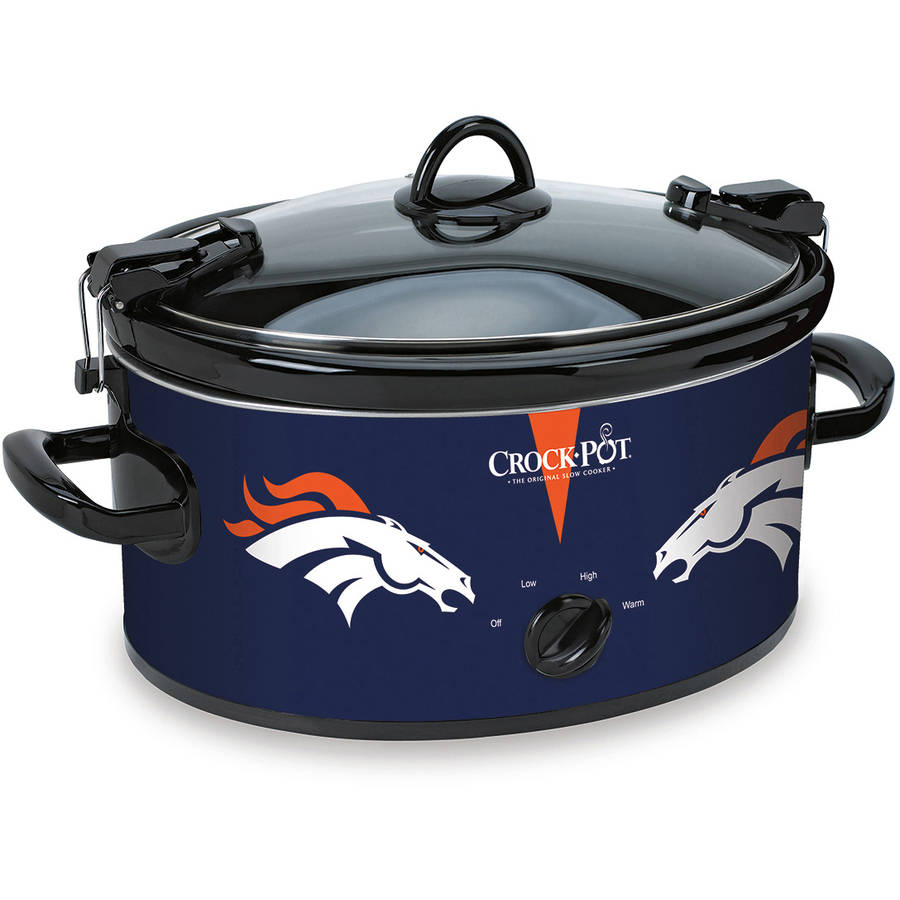 Crock-Pot NFL 6-Quart Slow Cooker, Denver Broncos
