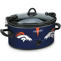 Crock-Pot 6 Quart NFL Denver Broncos Slow Cooker