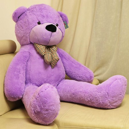 Joyfay Giant Teddy Bear- Big Purple Teddy Bear, Soft and Cuddly, Great for Easter, Christmas, Valentines, or - Giant Eraser