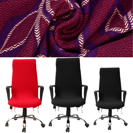 Elastic Spandex Office Computer Chair Cover Stretchable Rotate Swivel Chair Seat Covers L ()