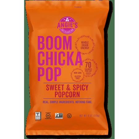 Angies Boomchickapop Popcorn  Sweet   Spicy  6 Oz  1 Count