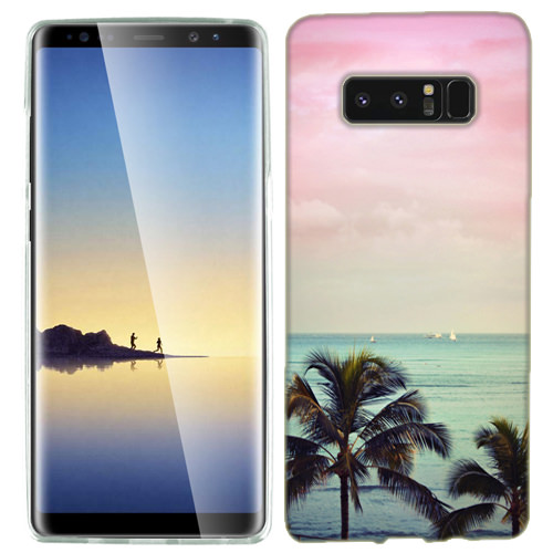 MUNDAZE Vacation Dreaming Case Cover For Samsung Galaxy S8 PLUS