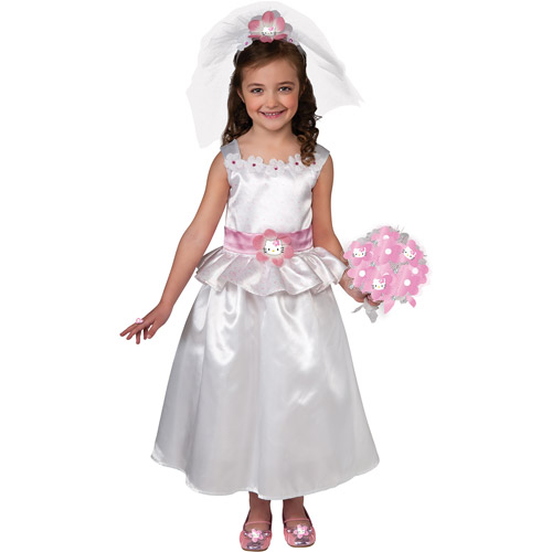 Hello Kitty Bride Child Costume by Generic