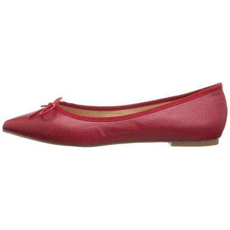 Brinley Co Womens Lena Pointed Toe Ballet Flats - Tween Camel Toes