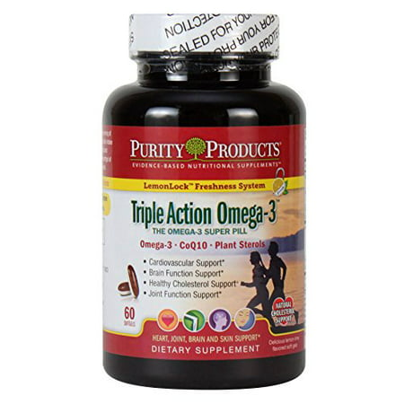 Purity Products - Triple Action Omega-3 Super Pill - 60 Gélules