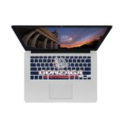 KB Covers Gonzaga University Keyboard Cover for MacBook/Air 13/Pro (2008+)/Retina & Wireless (GONZAGA1-M-EDU)