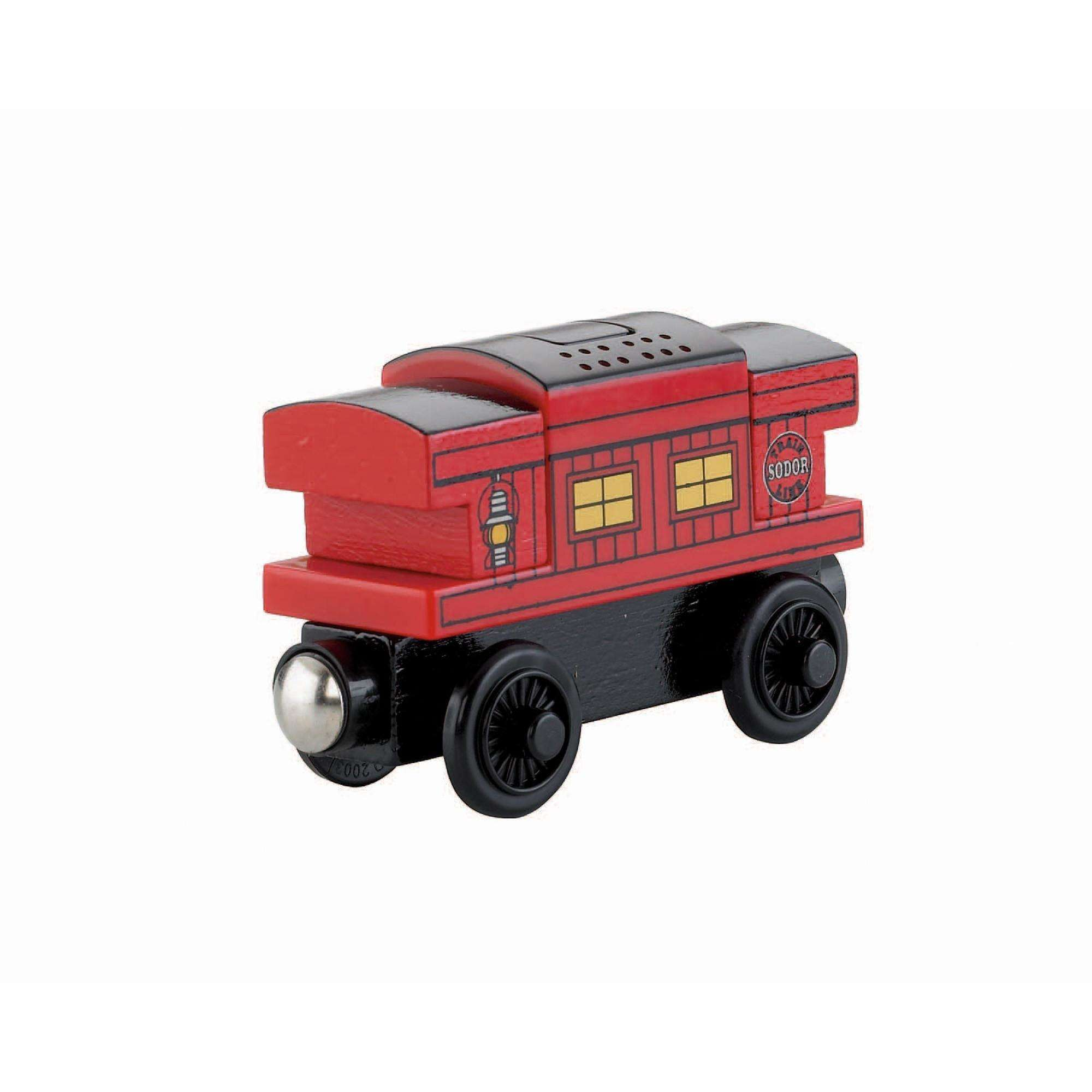 Thomas & Friends Wooden Railway Talking Musical Caboose by FISHER PRICE