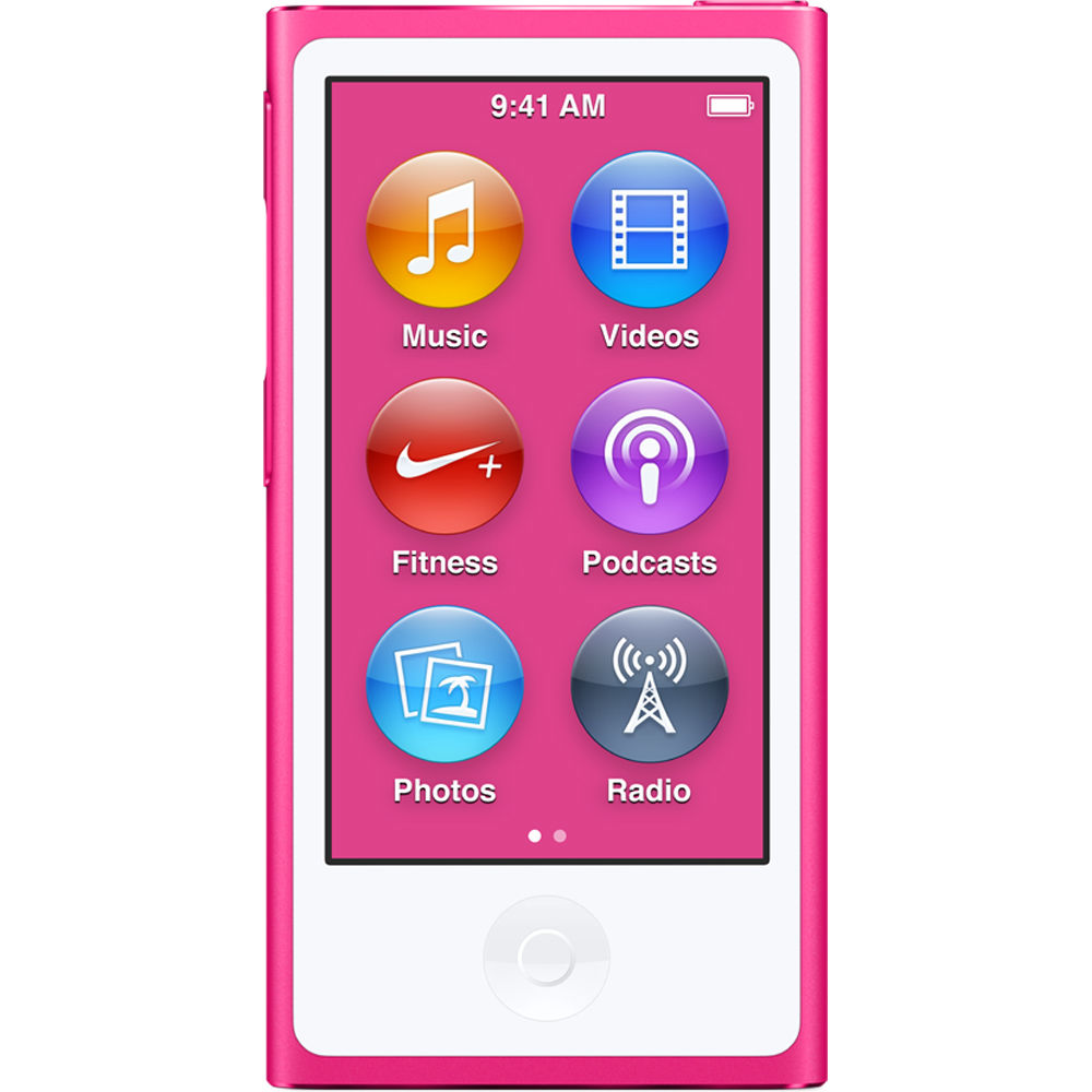 Apple iPod Nano 8th Generation (16GB) Hot Pink Bundle +(6...
