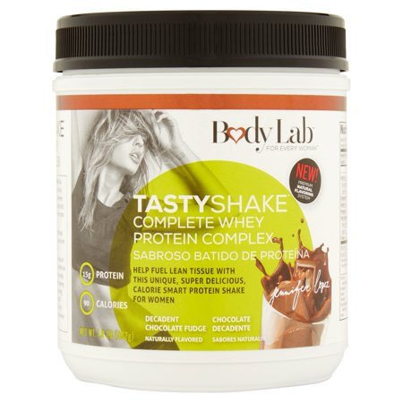 Body Lab Tastyshake Complete Whey Protein Complex Decadent Chocolate Fudge Shake Mix  1 Lb