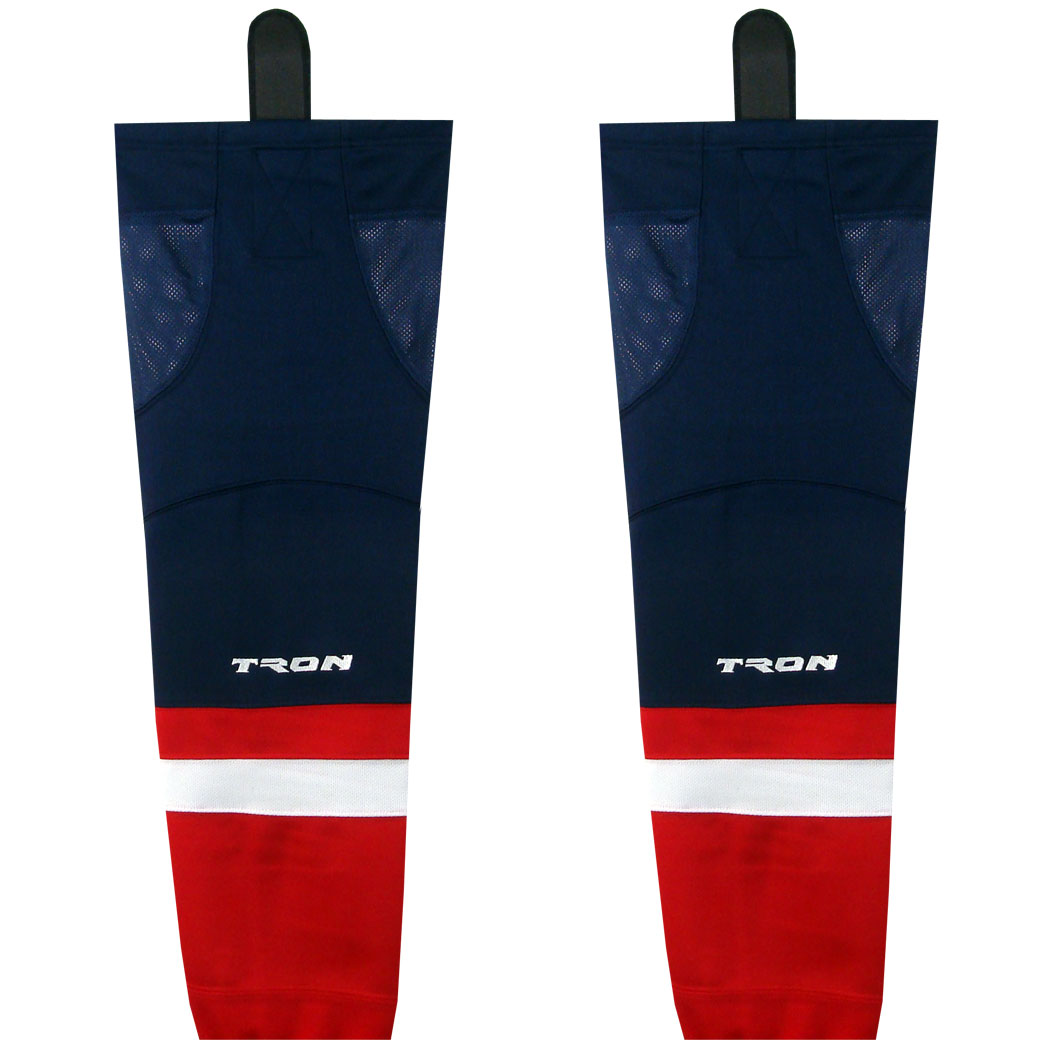 TRON SK300 Washington Capitals Dry Fit Hockey Socks (Red)
