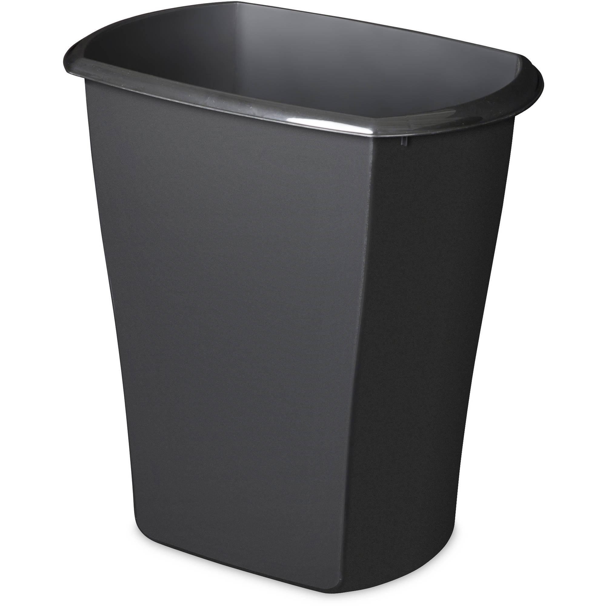 Sterilite Corporation Mainstays 10 Gallon Rectangular Wastebasket -  Multiple Colors (Available in Case of 6 or Single Unit)