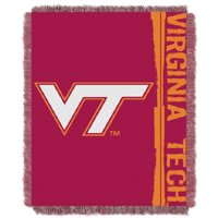 "Virginia Tech Hokies The Northwest Company College Double Play 46"" x 60"" Woven Blanket"