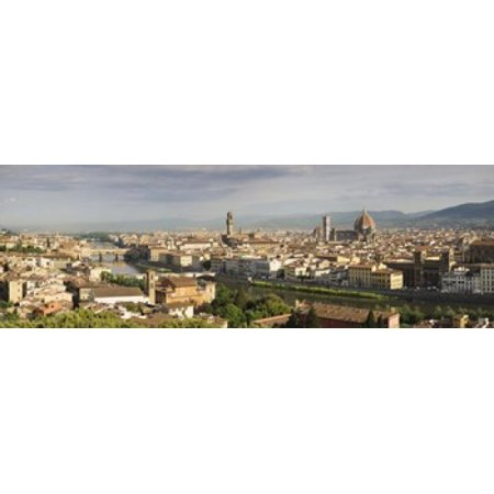Buildings in a city Ponte Vecchio Arno River Duomo Santa Maria Del Fiore Florence Tuscany Italy Poster Print](Party City Florence)