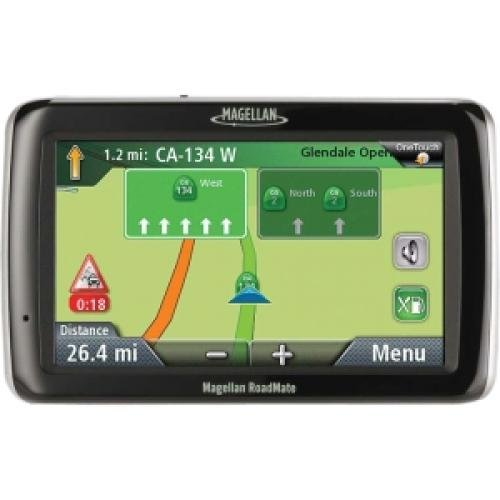 MiTAC Magellan RoadMate 2055 Portable GPS Navigator with Bluetooth & Lifetime Traffic