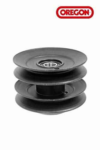Genuine Oregon 44-103 Double Pulley Assembly w Bearings Replaces 756-1202 by Oregon