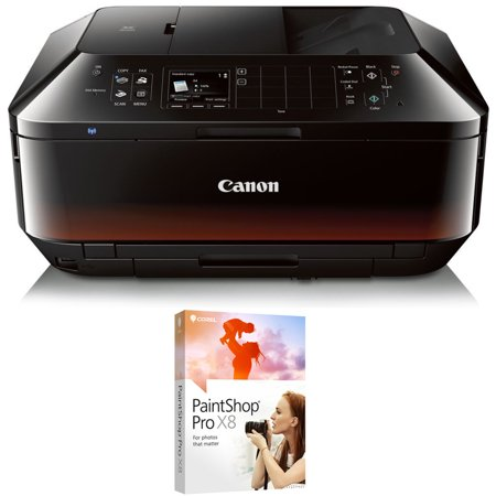 Canon PIXMA MX922 Wireless Inkjet Office All-In-One Printer with Corel PaintShop Pro